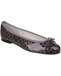 French Sole - Henrietta Womens Grey Ballet Pumps - Lyst