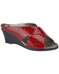 Lotus - Martina Womens Wedge Heel Sandals - Lyst