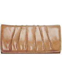 Charles Clinkard - Aloe Womens Leather Clutch Handbag - Lyst