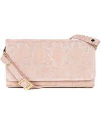 Peter Kaiser - Lanelle Womens Textured Leather Clutch Shoulder Bag - Lyst
