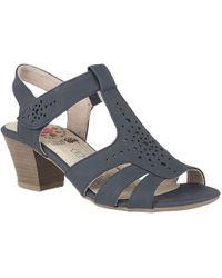 Lotus | Ember Womens Block Heel Sandals | Lyst