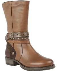 Lotus - Huambo Womens Calf Length Boots - Lyst