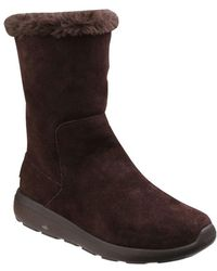 Skechers - On The Go City 2 Womens Pull On Boots - Lyst