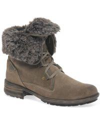 Josef Seibel - Sandra 04 Fur Lined Womens Ankle Boots - Lyst