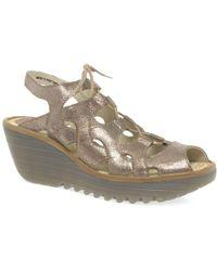 Fly London | Yexa Womens Wedge Heel Shoes | Lyst