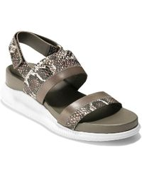 Cole Haan - 2 Zerogrand Slide Womens Sandals - Lyst