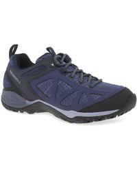 Merrell - Dark Blue 'siren Sport Q2' Trainers - Lyst
