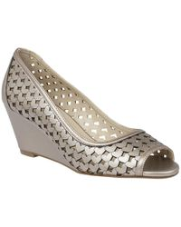 Lotus - Valetta Womens Wedge Heel Shoes - Lyst