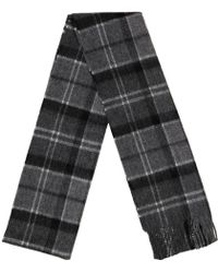 Barbour - Merino Lambswool And Cashmere Fringe Scarf - Lyst