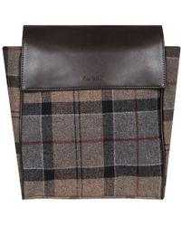 Barbour - Milport Classic Winter Tartan Backpack - Lyst
