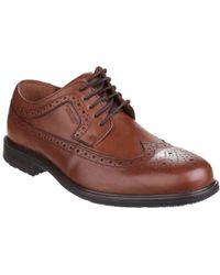 Rockport - Essential Details Ii Mens Wingtip Lace Up Shoe Shoes - Lyst