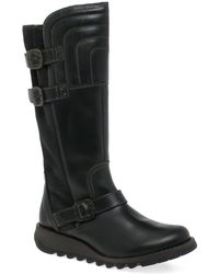 Fly London - Sher Womens Long Boots - Lyst