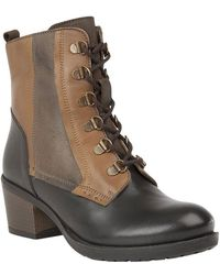 Lotus - Onslow Womens Block Heel Ankle Boots - Lyst