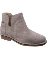 Hush Puppies - Claudia Catelyn Womens Suede Ankle Boots - Lyst