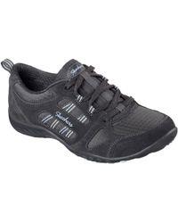 Skechers - Breathe Easy Good Luck Womens Casual Sports Trainers - Lyst