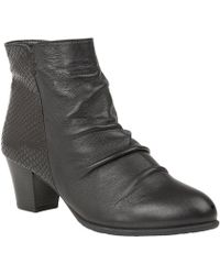Lotus - Punata Womens Ankle Boots - Lyst