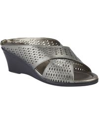 Lotus - Martina Womens Wedge Heel Sandals - Lyst