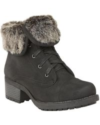 Lotus - Bijou Womens Casual Ankle Boots - Lyst