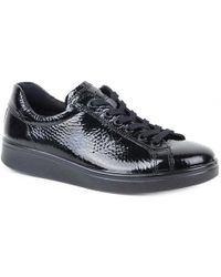 Ecco - Soft 4 Womens Casual Lace Up Trainers - Lyst