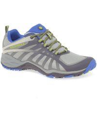 Merrell - Siren Edge Q2 Womens Walking Hiking Sports Trainers - Lyst