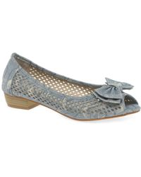 Charles Clinkard - Coast Womens Casual Peep Toe Court Shoes - Lyst