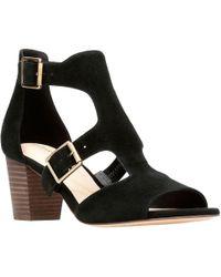 Clarks - Deloria Kay Womens Heeled Sandal - Lyst