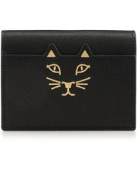 Charlotte Olympia - Feline Card Wallet - Lyst