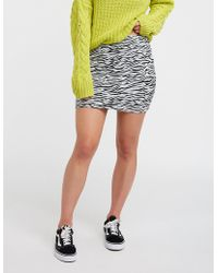 e2fb2097b34e6 Lyst - Charlotte Russe Plus Size Bodycon Mini Skirt in Red