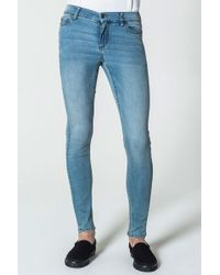 Cheap Monday - Him Spray Stone Bleach Jeans - Lyst