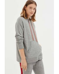 Chinti & Parker - Grey Ringmaster Cashmere Hoodie - Lyst