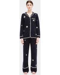 Chinti & Parker - Star Cashmere Pyjama Top - Lyst