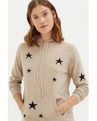 Chinti & Parker - Oatmeal Star Hoodie - Lyst