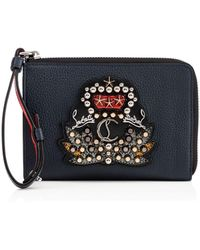 Christian Louboutin - Tinos Zipped Pouch - Lyst