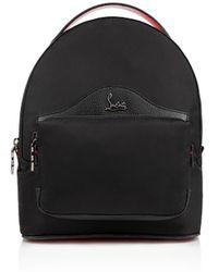 Christian Louboutin - Backloubi Small Backpack Black Nylon - Lyst