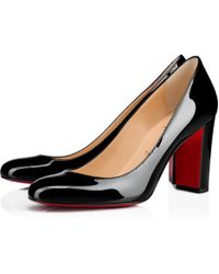 buy popular fbd8e ab7f7 Lyst - Christian Louboutin Lady Daf Tartan Mary Jane in Red
