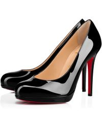 Christian Louboutin - Very Conic Patent Degrade Leopard - Lyst