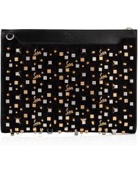 2f0f82c94a856 Lyst - Christian Louboutin Skypouch in Black for Men