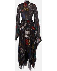 Christopher Kane - Multi Jewel Georgette Dress - Lyst