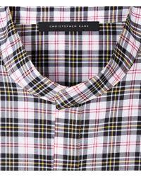 Christopher Kane   Checked Shirt   Lyst