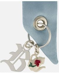 Christopher Kane - Bow And Rose Tea Set Brooch - Lyst
