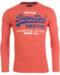 Superdry - Duo Long Sleeve Top - Lyst