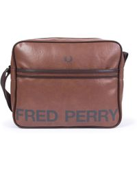 Fred Perry - Shoulder Bag In Tan - Lyst
