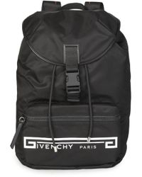 b02e271013d Givenchy - Flames Strap Black Backpack - Lyst