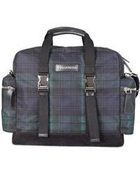 DSquared² Tartan Duffle Bag