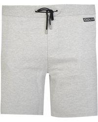 HUGO - Diz Jersey Shorts Grey - Lyst