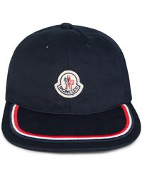 0c516de1b6001 Moncler Classic Baseball Cap in Black for Men - Lyst