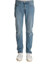 Paul Smith - Tapered Fit Light Washed Jeans - Lyst