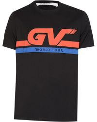 Givenchy - World Tour Motocross T-shirt - Lyst