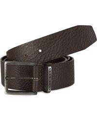 BOSS Leather Belt   serrano  in Brown for Men - Lyst f2a0c5c88fd