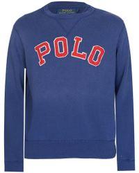 Ralph Lauren - Polo Appliqu Sweatshirt Navy - Lyst